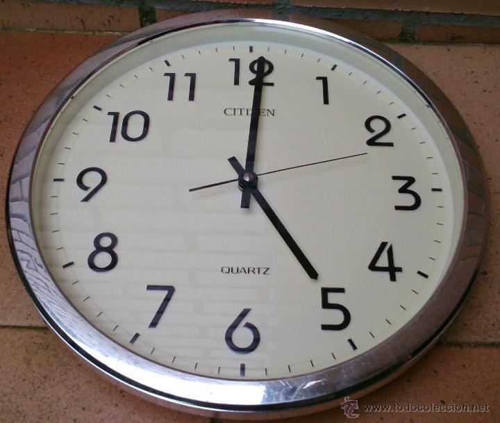 Reloj de pared citizen quartz vintage comprar relojes - Relojes de pared ...