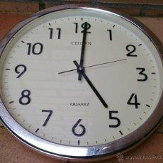 Relojes - Citizen: RELOJ DE PARED CITIZEN QUARTZ, VINTAGE. Lote 45685009