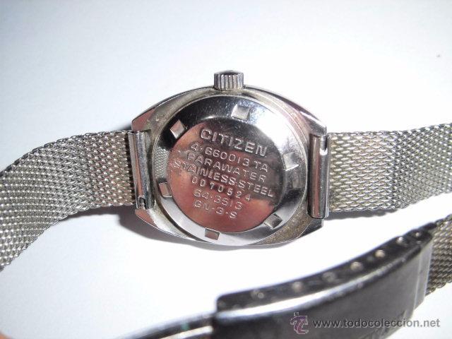 Relojes - Citizen: RELOJ AUTOMATICO CITIZEN FUNCIONANDO ,CRISTAL RAYADO - Foto 12 - 245247905