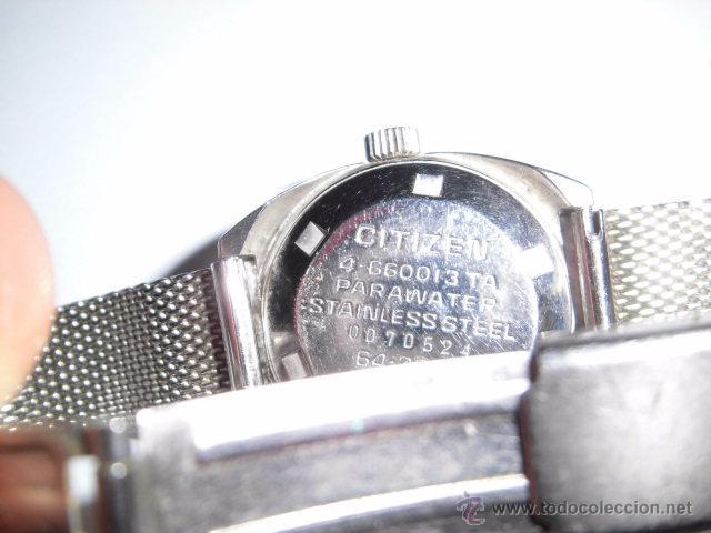 Relojes - Citizen: RELOJ AUTOMATICO CITIZEN FUNCIONANDO ,CRISTAL RAYADO - Foto 13 - 245247905