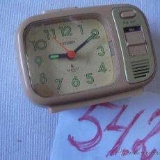 Relojes - Citizen: ANTIGUO RELOJ DE SOBREMESA CITIZEN EN BUEN ESTADO. Lote 53556858