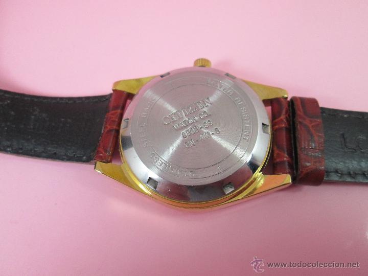Relojes - Citizen: RELOJ-JAPON-CITIZEN AUTOMATIC-CORREA PIEL LORUS-EXCELENTE-VER FOTOS - Foto 2 - 55574416