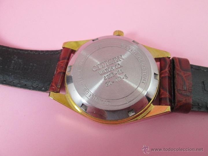 Relojes - Citizen: RELOJ-JAPON-CITIZEN AUTOMATIC-CORREA PIEL LORUS-EXCELENTE-VER FOTOS - Foto 4 - 55574416