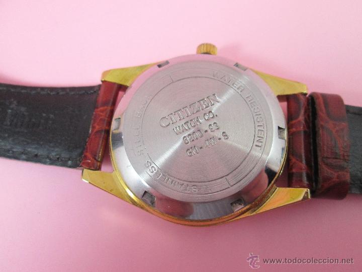 Relojes - Citizen: RELOJ-JAPON-CITIZEN AUTOMATIC-CORREA PIEL LORUS-EXCELENTE-VER FOTOS - Foto 8 - 55574416