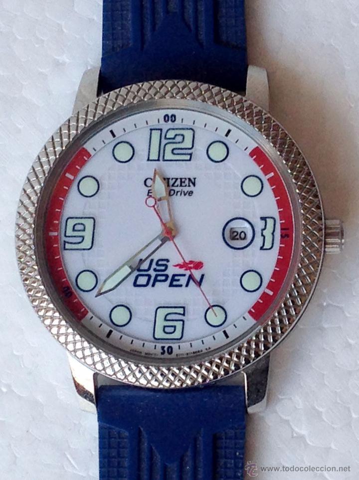RELOJ PULSERA CITIZEN US OPEN 2012 COMPETITOR ECO DRIVE (Relojes - Relojes Actuales - Citizen)