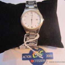 Relojes - Citizen: RELOJ DE PULSERA CITIZEN. CUARZO. 3 CMS. DIÁMETRO. FUNCIONANDO Y SIN USO.. Lote 54596035