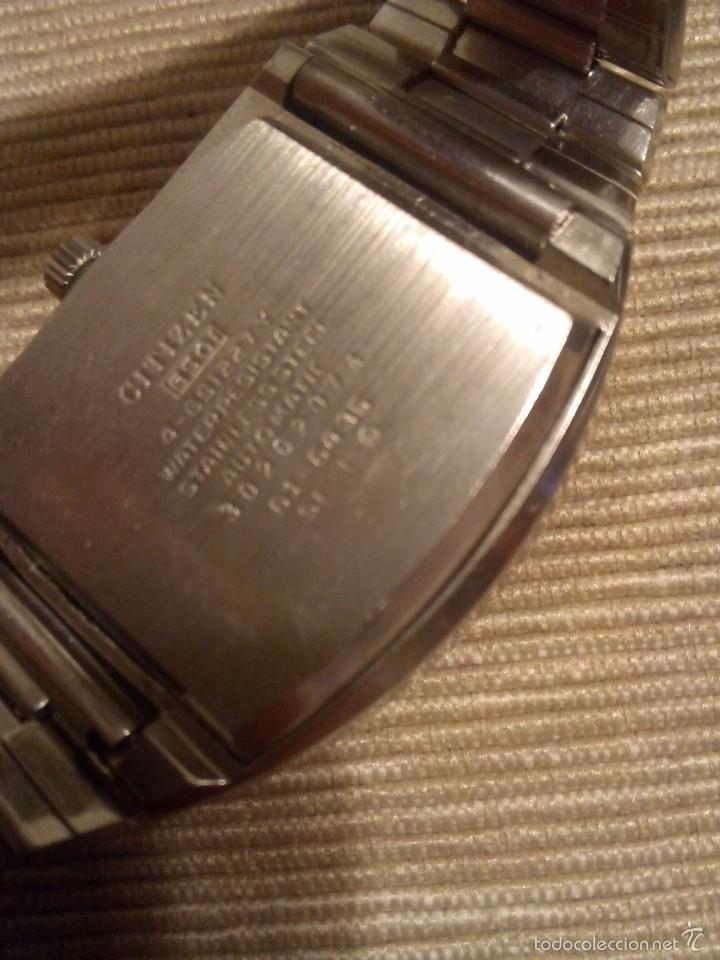 Relojes - Citizen: Curioso reloj Citizen automático - Foto 2 - 56333887