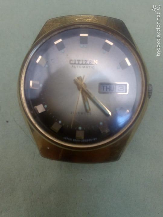Relojes - Citizen: Reloj Automático Citizen Dorado - Foto 5 - 59898655