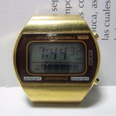 Relojes - Citizen: ENVIO GRATIS RELOJ ANTIGUO CITIZEN QUARTZ CRYSTRON LC RARO ESCASO. Lote 63700367