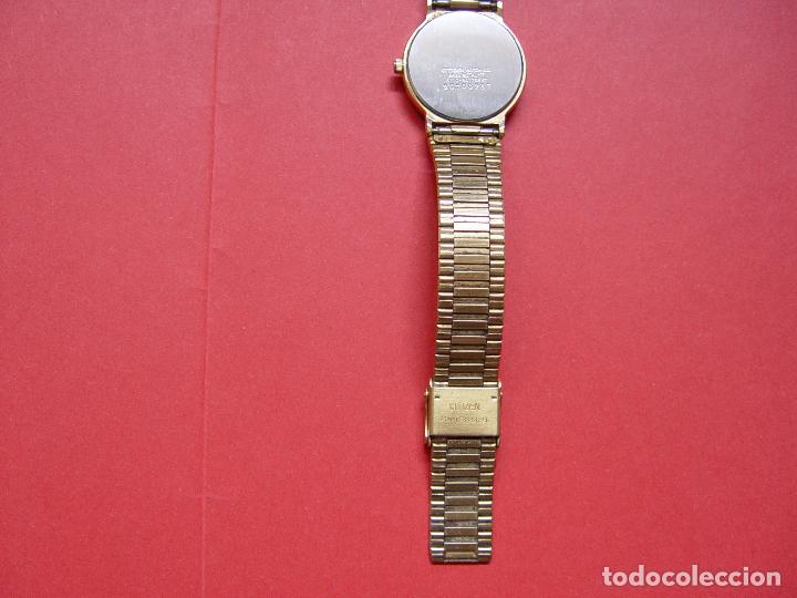 Relojes - Citizen: Antiguo RELOJ: CITIZEN QUARTZ (1970's). Correa. Caballero. Original ¡Coleccionista! - Foto 5 - 64365599