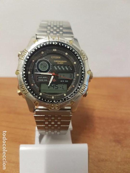992de1185097 Relojes - Citizen  Reloj de caballero (Vintage) Citizen. Promaster  analógico digital con