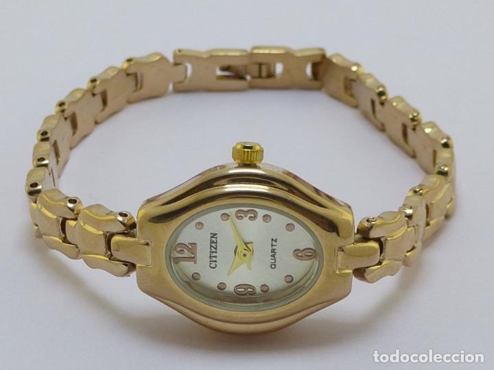 Precio de fábrica 2019 busca lo mejor sitio web profesional Citizen reloj pulsera dama 4 numeros chapado en - Sold at ...