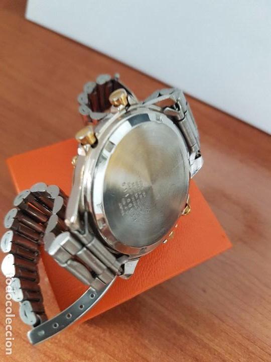 Relojes - Citizen: Reloj de caballero (Vintage) CITIZEN cuarzo, Analógico y digital, cronografo, bicolor, correa acero - Foto 5 - 81947296