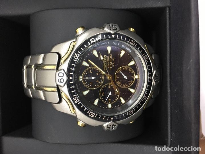 Reloj citizen eco-drive titanium con caja para - Sold at Auction ... 18e9ba85ad