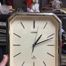 Relojes - Citizen: RELOJ DE PARED CITIZEN QUARTZ - MEDIDA 26,5X22,5 CM. Lote 84962416
