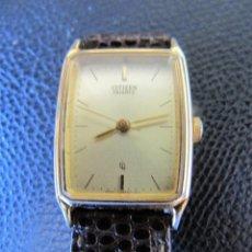 Relojes - Citizen: RELOJ CITIZEN QUARTZ AÑOS 80-90 DORADO CORREA PIEL. Lote 211858588