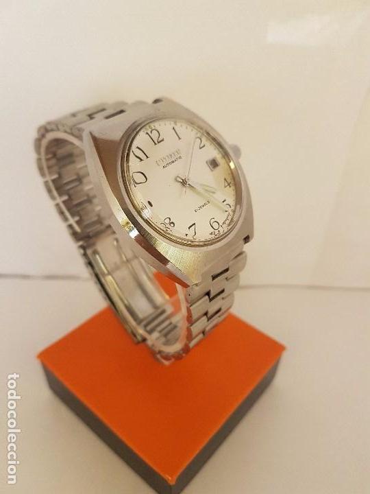 Relojes - Citizen: Reloj de caballero automático CITIZEN en acero, calendario a las tres horas, correa acero original - Foto 7 - 92280900