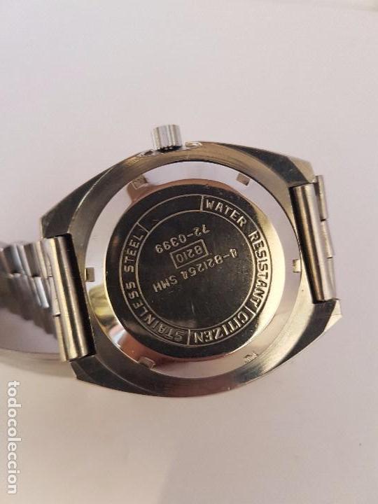 Relojes - Citizen: Reloj de caballero automático CITIZEN en acero, calendario a las tres horas, correa acero original - Foto 10 - 92280900