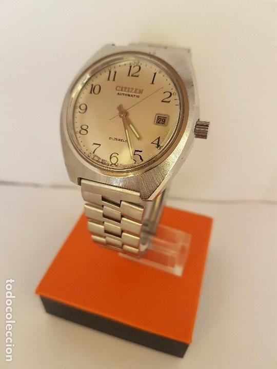 Relojes - Citizen: Reloj de caballero automático CITIZEN en acero, calendario a las tres horas, correa acero original - Foto 13 - 92280900