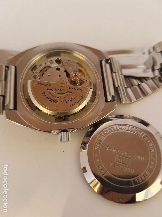 Relojes - Citizen: Reloj de caballero automático CITIZEN en acero, calendario a las tres horas, correa acero original - Foto 14 - 92280900