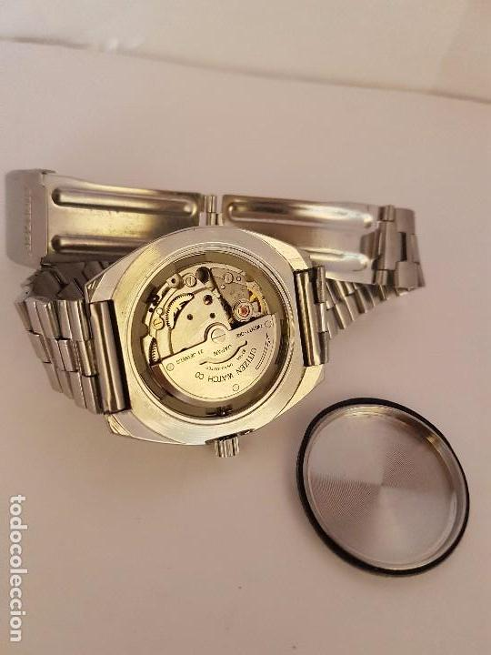 Relojes - Citizen: Reloj de caballero automático CITIZEN en acero, calendario a las tres horas, correa acero original - Foto 17 - 92280900
