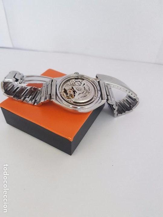 Relojes - Citizen: Reloj caballero (Vintage) CITIZEN automático acero con doble calendario a tres horas correa acero. - Foto 23 - 92369600