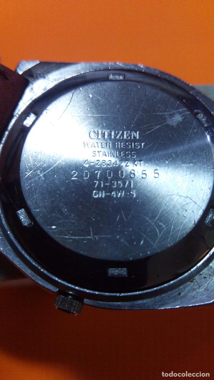 Relojes - Citizen: CITIZEN - AUTOMATICO. FUNCIONANDO. 36/38 MM, C/C. DESCRIP. Y FOTOS. - Foto 3 - 132720781