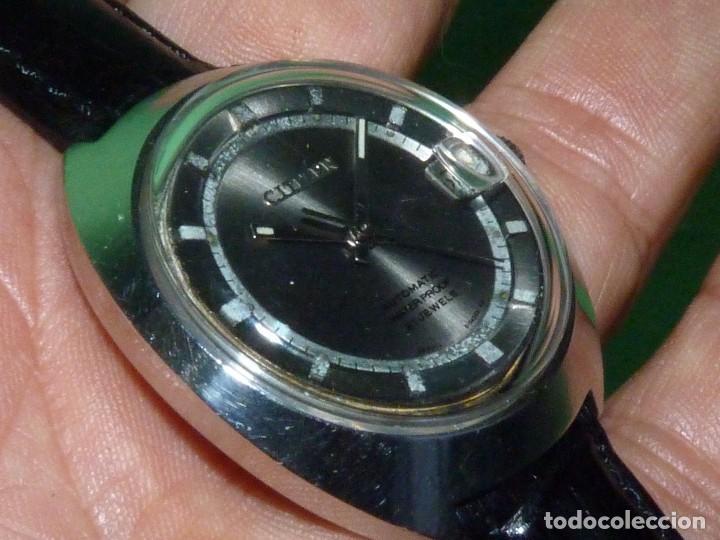 RARO RELOJ CITIZEN 62-5191 WATERPROOF AUTOMÁTICO 21 RUBIS 1970 DIFICIL VINTAGE JAPAN COLECCIÓN (Relojes - Relojes Actuales - Citizen)