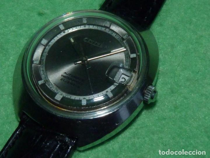 Relojes - Citizen: Raro reloj Citizen 62-5191 waterproof automático 21 rubis 1970 dificil vintage Japan colección - Foto 3 - 96547999