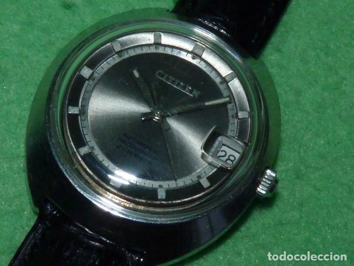 Relojes - Citizen: Raro reloj Citizen 62-5191 waterproof automático 21 rubis 1970 dificil vintage Japan colección - Foto 4 - 96547999