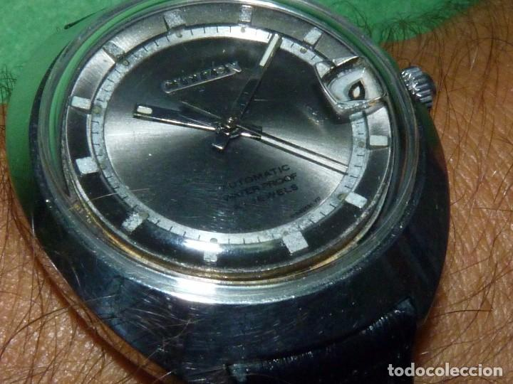 Relojes - Citizen: Raro reloj Citizen 62-5191 waterproof automático 21 rubis 1970 dificil vintage Japan colección - Foto 7 - 96547999