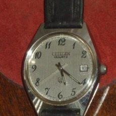 Relojes - Citizen: RELOJ CITIZEN QUARTZ,CALENDARIO.. Lote 96996179