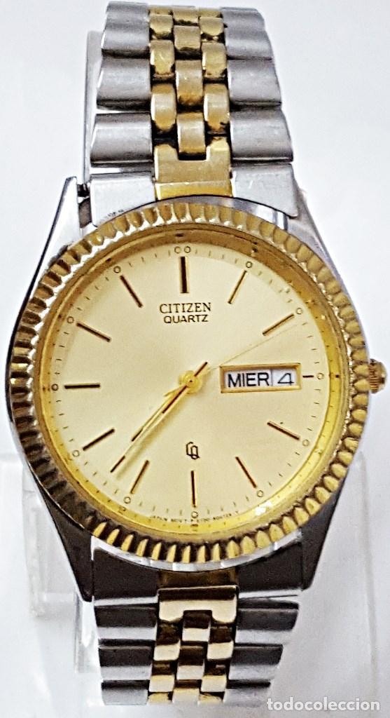 Relojes - Citizen: RELOJ CITIZEN QUARTZ BICOLOR CABALLERO REF-GN-4W-S - Foto 2 - 212678446