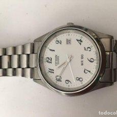 Relojes - Citizen: RELOJ CITIZEN QUARZO EN ACERO COMPLETO WR100. Lote 99575431