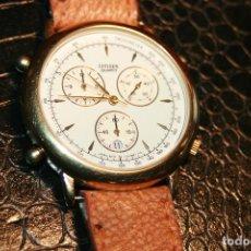 Relojes - Citizen: PRECIOSO RELOJ CITIZEN 3560 QUARTZ BAÑADO EN ORO FUNCIONANDO PERFECTAMENTE MUY CUIDADO COMO NUEVO. Lote 103112767