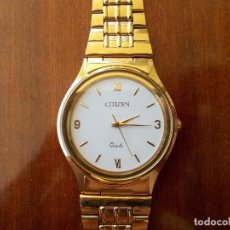 Relojes - Citizen: RELOJ CITIZEN QUARTZ BAÑADO EN ORO. Lote 103732091