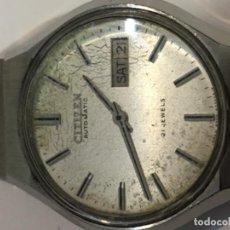 Relojes - Citizen: RELOJ CITIZEN AUTOMÁTICO EN ACERO COMPLETO EN FUNCIONAMIENTO . Lote 103851803