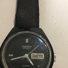 Relojes - Citizen: RELOJ CITIZEN AUTOMÁTICO ACERO Y CORREA DE PIEL DE MUJER. Lote 109031235