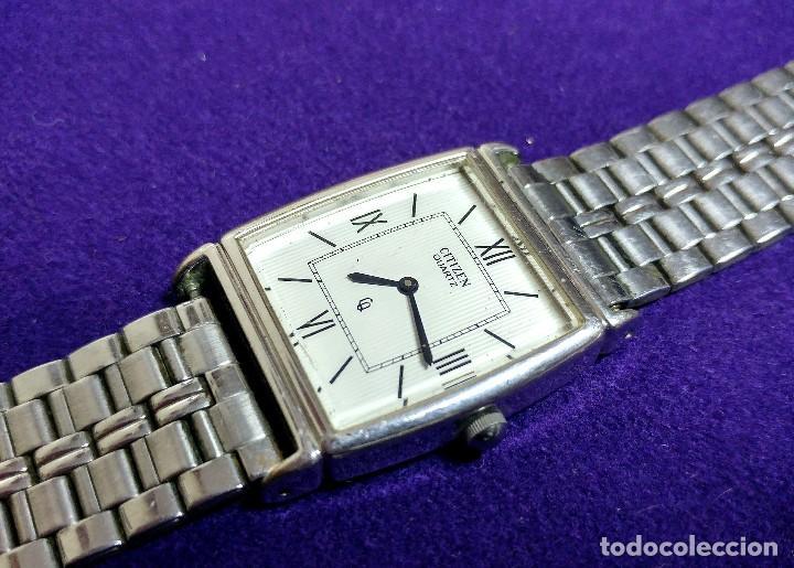 Relojes - Citizen: RELOJ DE PULSERA CITIZEN. EN FUNCIONAMIENTO. QUARTZ. AÑOS 80. SWISS. CABALLERO - Foto 4 - 109180135