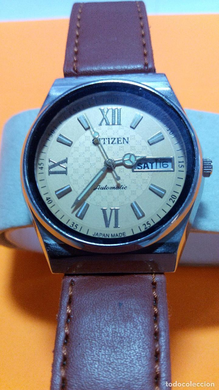 Relojes - Citizen: CITIZEN - AUTOMATICO. FUNCIONANDO. 36/38 MM, C/C. DESCRIP. Y FOTOS. - Foto 5 - 132720781