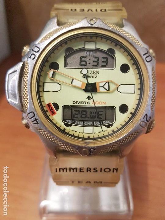 c10c2a3aeeee Reloj caballero (vintage) citizen promaster aqu - Vendido en Venta ...