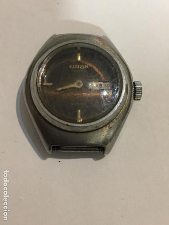 RELOJ ANTIGUO CITIZEN AUTOMÁTICO PARA REPARAR (Relojes - Relojes Actuales - Citizen)