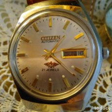 Relojes - Citizen: RELOJ CITIZEN AUTOMATICO. FUNCIONANDO. 21 RUBIS. PERFECTO ESTADO. DESCRIP. Y FOTOS VARIAS.. Lote 120167187