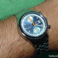 Relojes - Citizen: DEPORTIVO RELOJ CITIZEN CHRONOGRAFO 67-9038 AUTOMATICO 1974 FLYBACK 23 RUBIS CALIBRE 8110 BULLHEAD. Lote 122716839