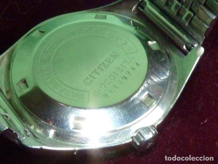 Relojes - Citizen: DIFICIL CITIZEN V2 SEVEN-STAR 1969 AUTOMATICO 25 RUBIS DOBLE CALENDARIO VINTAGE MADE IN JAPAN - Foto 4 - 128104507