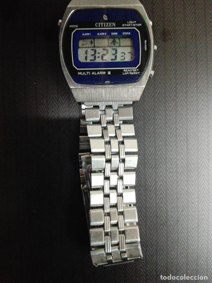 Relojes - Citizen: CITIZEN MULTI ALARM III 41-3038. CORREA ORIGINAL. EXCELENTE ESTADO. FUNCIONANDO CORRECTAMENTE - Foto 2 - 128434107