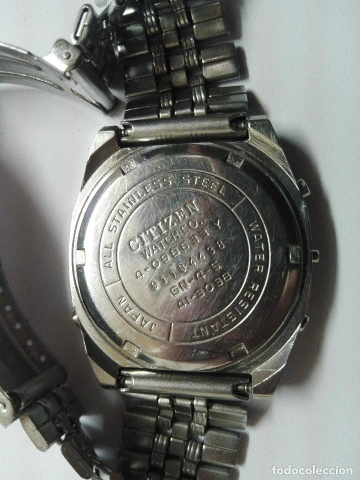 Relojes - Citizen: CITIZEN MULTI ALARM III 41-3038. CORREA ORIGINAL. EXCELENTE ESTADO. FUNCIONANDO CORRECTAMENTE - Foto 7 - 128434107