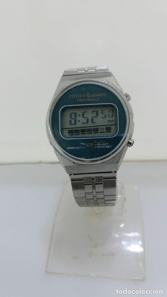 RELO CITIZEN CRYSTON LC DIGITAL AÑOS 80 (Relojes - Relojes Actuales - Citizen)