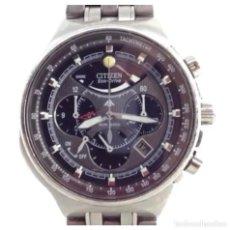 Relojes - Citizen: CITIZEN PRIMASTER ECO-DRIVE E210 CRONOGRAFO ALARMA. Lote 134022110