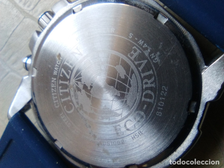 Relojes - Citizen: RELOJ MARCA CITIZEN MODELO ECO-DRIVE - Foto 4 - 136343542